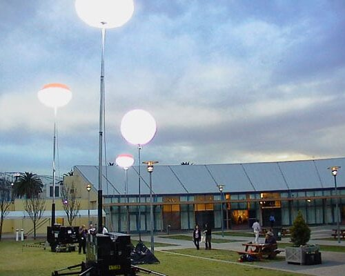 Light Towers for Industrial Lighting