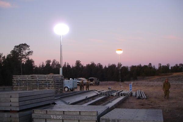 Lunar Lights for Military