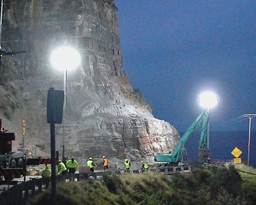 Lunar Lighting for Roadwork projects