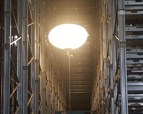 Rigid Polymer Lighting in Warehouses
