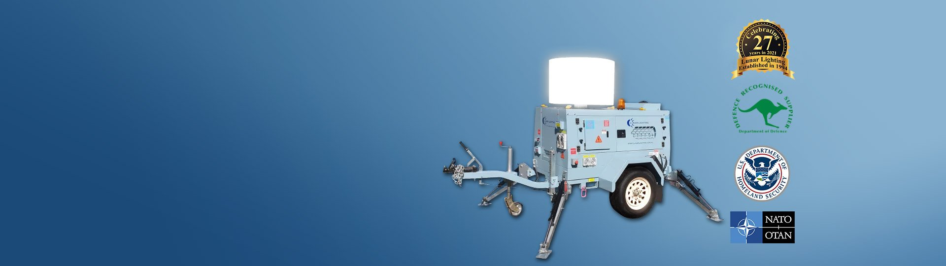 4800W LED Lunar Light Tower