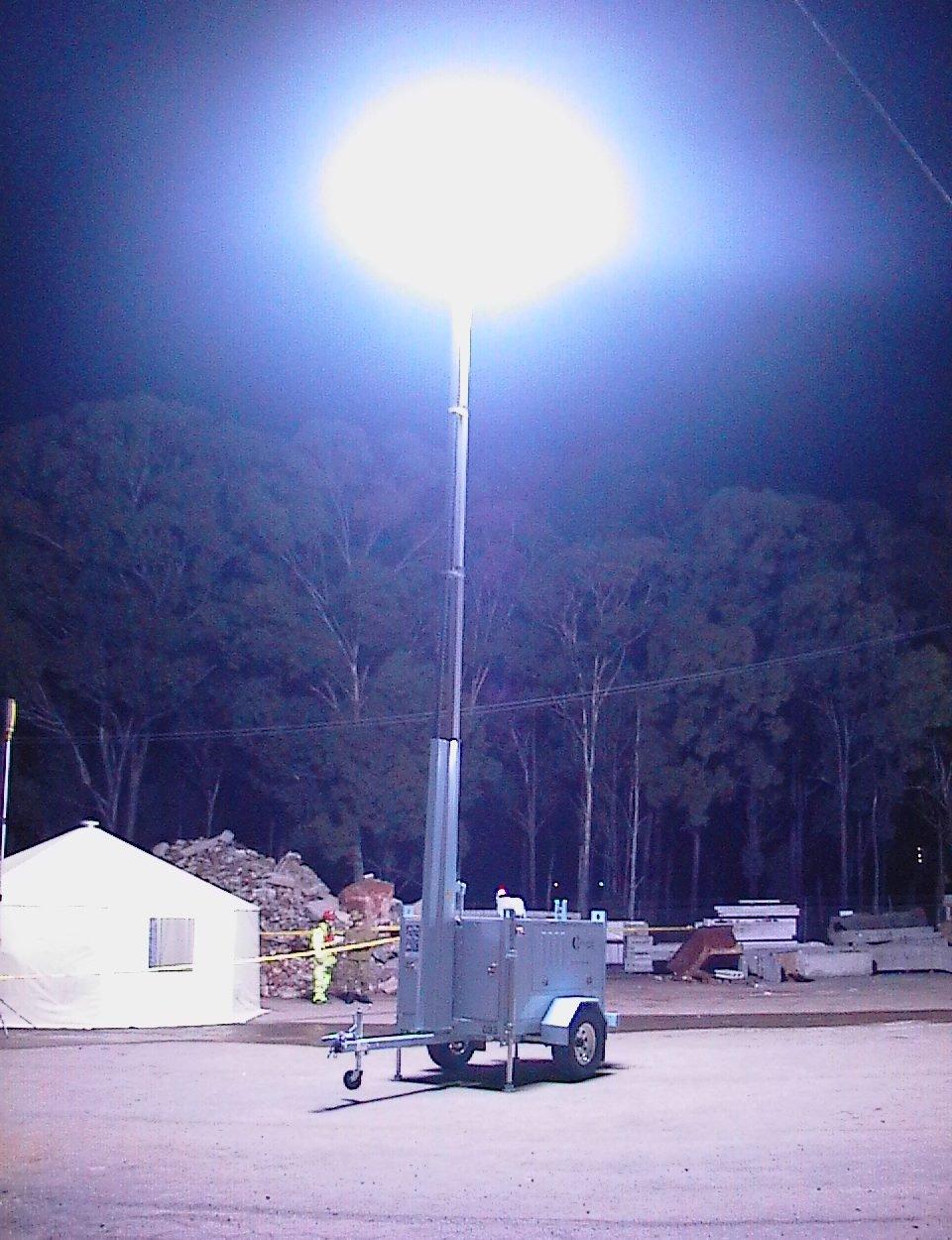 12kW HMI Lunar Lighting TowerLunar lighting