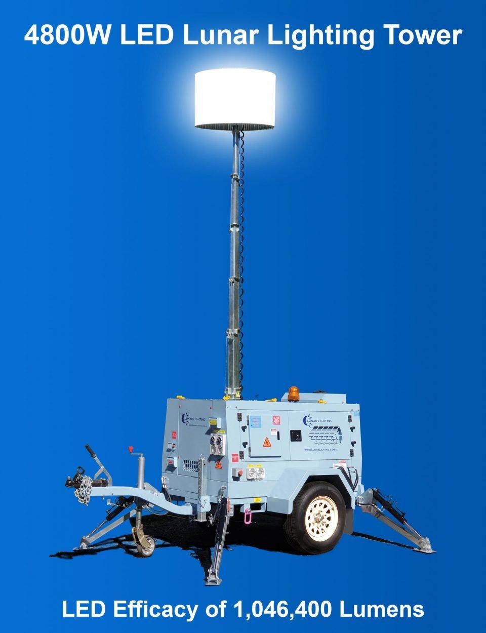 4800W LED Lunar Lighting Tower mu (002)
